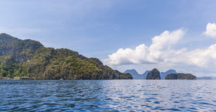 Philippines, Palawan Island. El Nido, Site A Stock Image