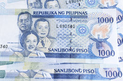 Philippines peso Stock Images