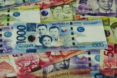 Philippines Peso Currency royalty free stock images