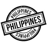 Philippines rubber stamp Stock Images