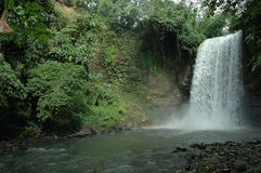 Philippines, South Cotabato, Seven Falls. Asia, Philippines, South Cotabato. The T'boli tribe has given each of the seven waterfalls a name: the first is stock image