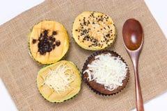 Philippines sponge cake. Philippines sponge cake named Mamon Stock Photography