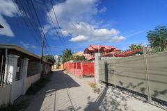 Philippines Subic street view Stock Images