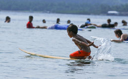 PHILIPPINES-SURFING-SUMMER Royalty Free Stock Image