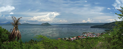 Philippines - Taal Volcano and Lake Royalty Free Stock Image