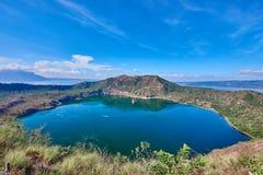 philippines taal vulkan Arkivbild