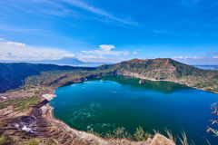 philippines taal vulkan Royaltyfri Foto
