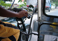 philippines trehjuling Arkivfoto