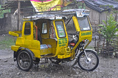 philippines tricycle stock photo