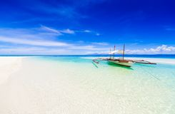 Philippines, tropical sea boat day! Stock Photography