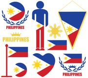 Philippines. Vector illustration (EPS 10 stock illustration