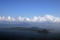 philippines vulkan Arkivfoton