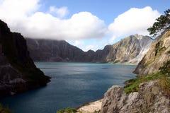 philippines vulkan Royaltyfria Bilder