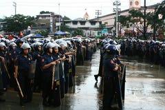 Philippinische Kraft der nationalen Polizei Stockbilder