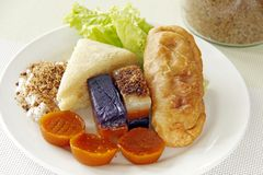Philippinische süße Nahrungsmittel Stockfotografie