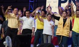 Philippinische Senats- Wahl Tritte-weg Stockfotos