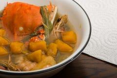 Philippinische Suppe lizenzfreies stockbild