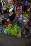 Philippinischer Gemüsemarkt Lizenzfreies Stockbild