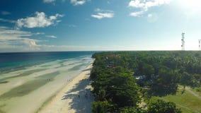 Philippinischer Strand Schattenbild des kauernden Geschäftsmannes Anda-Stadt Philippinische Natur stockbilder