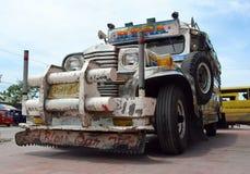 Philippinisches Jeepney. Stockfoto