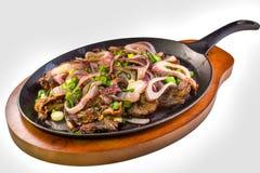 Philippinisches Rindfleischsteak lizenzfreies stockbild