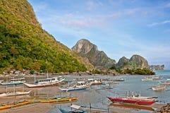 Philippino boats Royalty Free Stock Image