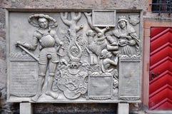 Philippstein, Philipps-Stone, Marburg Castle, Marburg. Philippstein, Philipps-Stone, Philip I of Hesse, Landgrave of Hesse, 1504-1567, St. Elizabeth or Elizabeth Stock Image