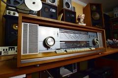 Philips Κρόνος 851 στερεοφωνικό συγκρότημα Στοκ Φωτογραφίες
