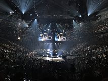 Philips arena zdjęcie stock