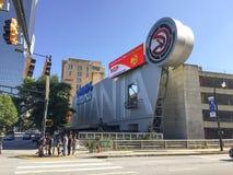 Philips Arena. Home of the Atlanta Hawks Royalty Free Stock Photo