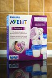 Philips Avent manual breast pump Royalty Free Stock Photography