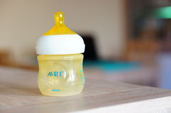 Philips baby bottle Stock Image
