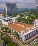 Philips factory. A Philips factory in the outskirts of Toa Payoh housing estate, Singapore Stock Photography