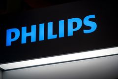 Philips firmy emblemat obrazy stock