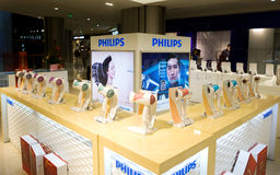 Philips hairdryers for sale Royalty Free Stock Photos