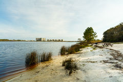 Philips Inlet. Beautiful Philips Inlet in the North Florida panhandle area near Panama City Royalty Free Stock Photos