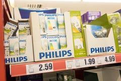 Philips lightbulbs royalty free stock image
