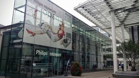 Philips Museum. In Eindhoven Stock Image