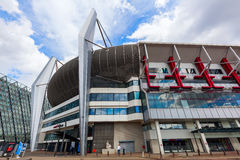 Philips Stadion à Eindhoven, Pays-Bas Photo stock
