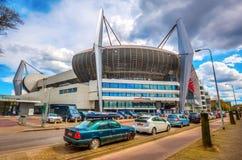 Philips Stadion i Eindhoven, Nederländerna Arkivfoto