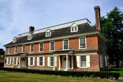 1693 Philipsburg庄园在Yonkers, NY 库存图片