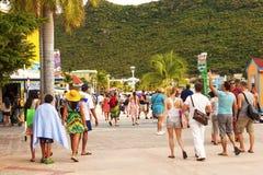Philipsburg,圣Maarten 免版税库存图片