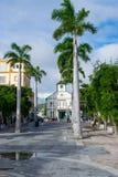 Philipsburg-Gericht ein symbolisches Gebäude und ein Markstein in Sint Maarten stockfoto