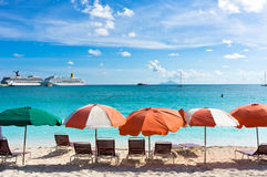 Philipsburg, Saint Martin, Carribean Islands Royalty Free Stock Images
