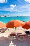 Philipsburg, Saint Martin, Carribean Islands Stock Image