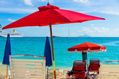 Philipsburg, Saint Martin, Carribean Islands Stock Photos