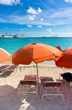 Philipsburg, Saint Martin, Carribean Islands Royalty Free Stock Photo