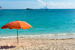 Philipsburg, Saint Martin, Carribean Islands Stock Image