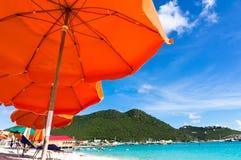 Philipsburg, San Martino, isole dei Caraibi Fotografie Stock Libere da Diritti