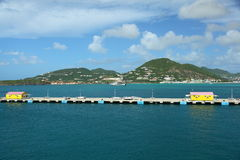 Philipsburg, Sint Maarten, Caribbean Royalty Free Stock Photography